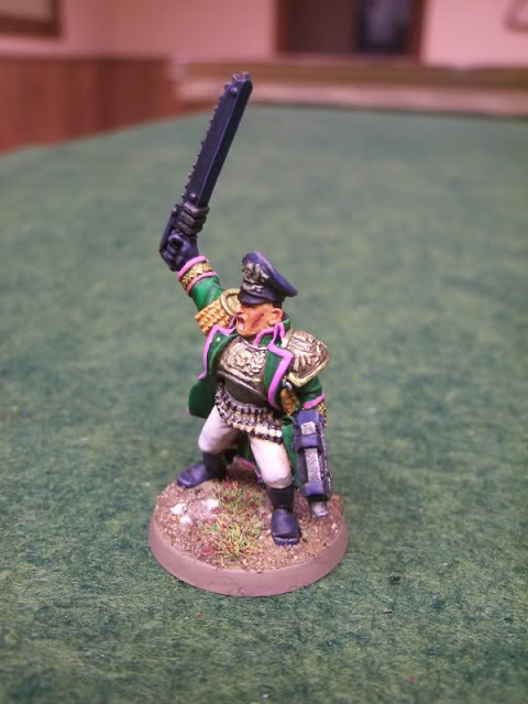 Renegade Imperial Guard astra militarum Platoon Officer