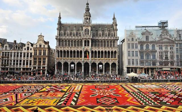 Horário normal da Bélgica