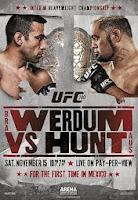 UFC 180: Werdum vs. Hunt (2014) online y gratis
