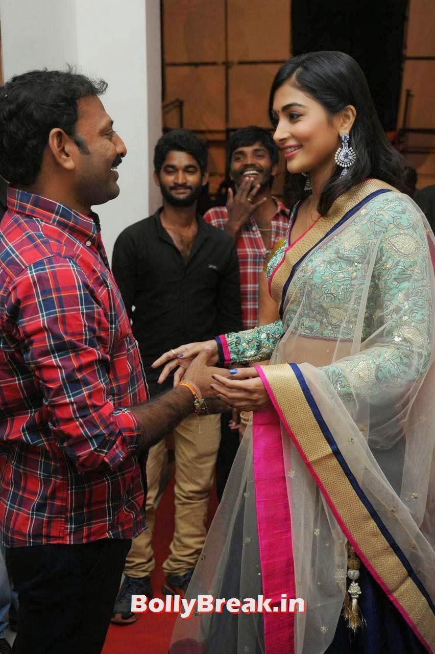 Pooja Hegde Photos, hot Pics of Pooja Hegde from Mukunda Movie Audi Launch