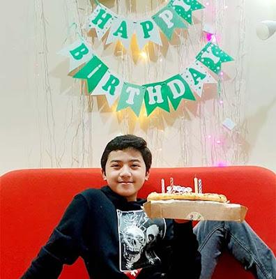 Naufal Ho Ulang Tahun