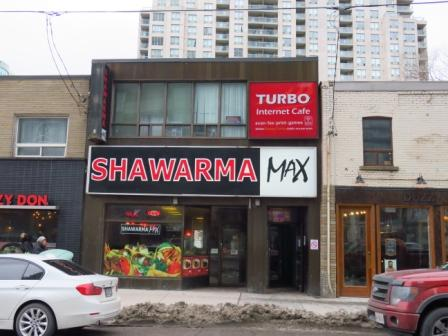 I Had Lunch Today At Shawarma Max On Yonge Street Park Home Avenue