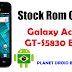 Stock Rom - Galaxy Ace (GT-S5830) B/L