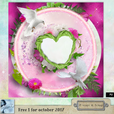 New Escape and Scrap Freebie