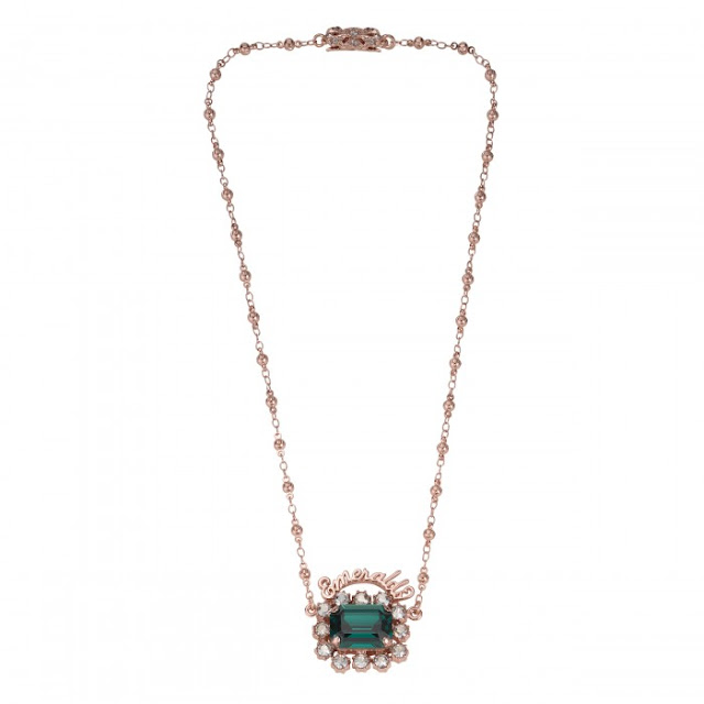 Modern Green Jewellery - Mawi Emerald Necklace