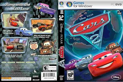 Carros 2 PC DVD Capa