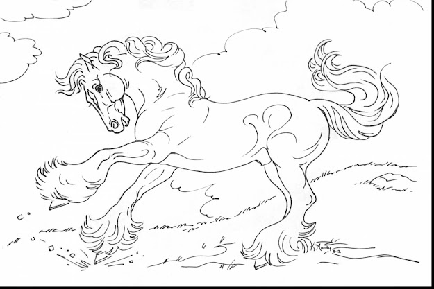 Remarkable Breyer Horse Coloring Pages To Print With Horse Coloring Page  And Horse Coloring Pages