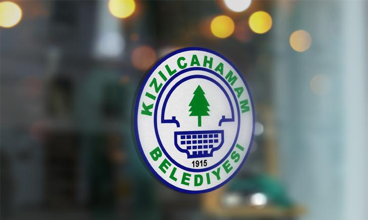 Ankara Kızılcahaman Belediyesi Vektörel Logosu