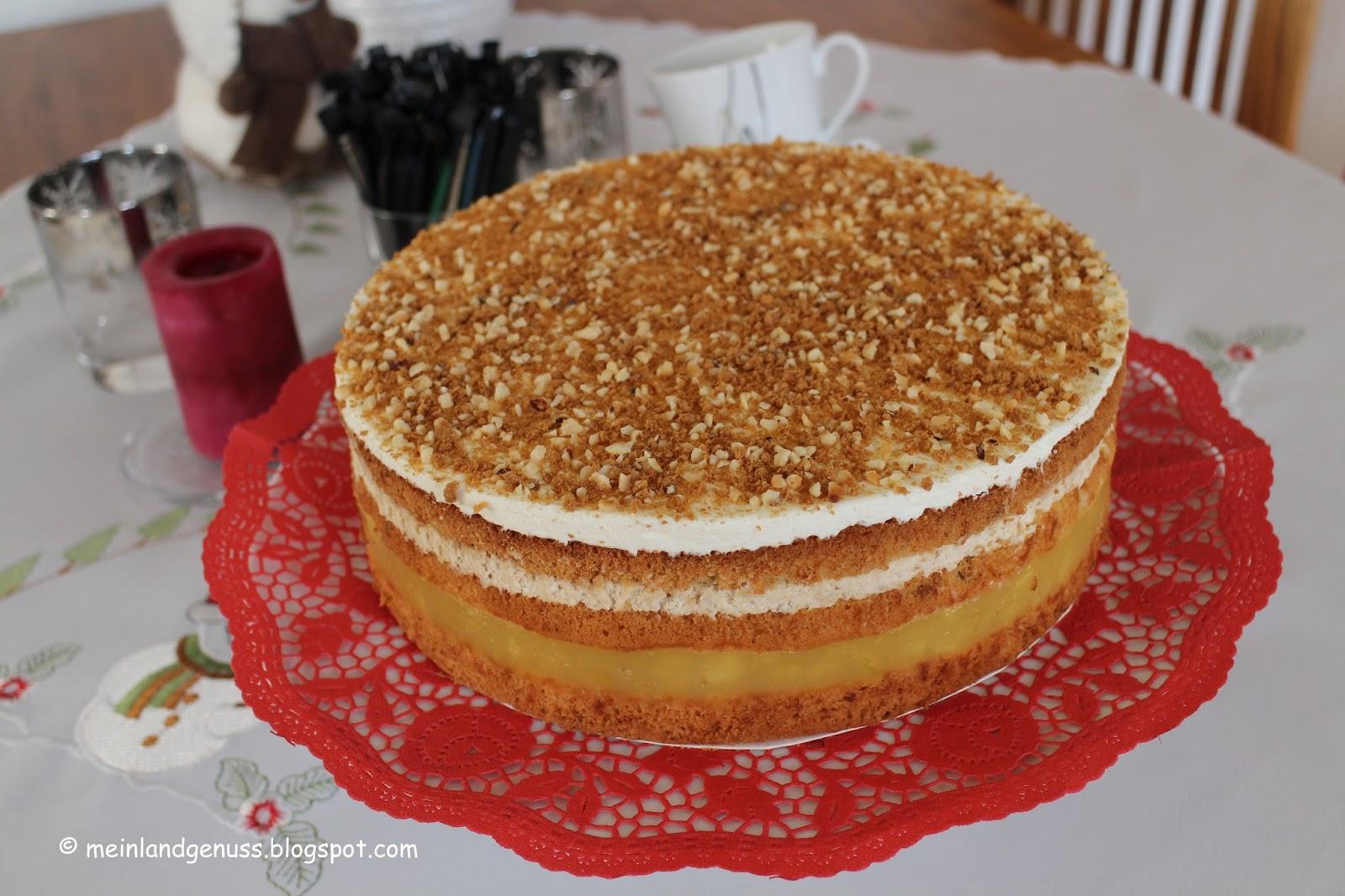 Mein Land Und Gartengenuss Karamell Apfel Torte