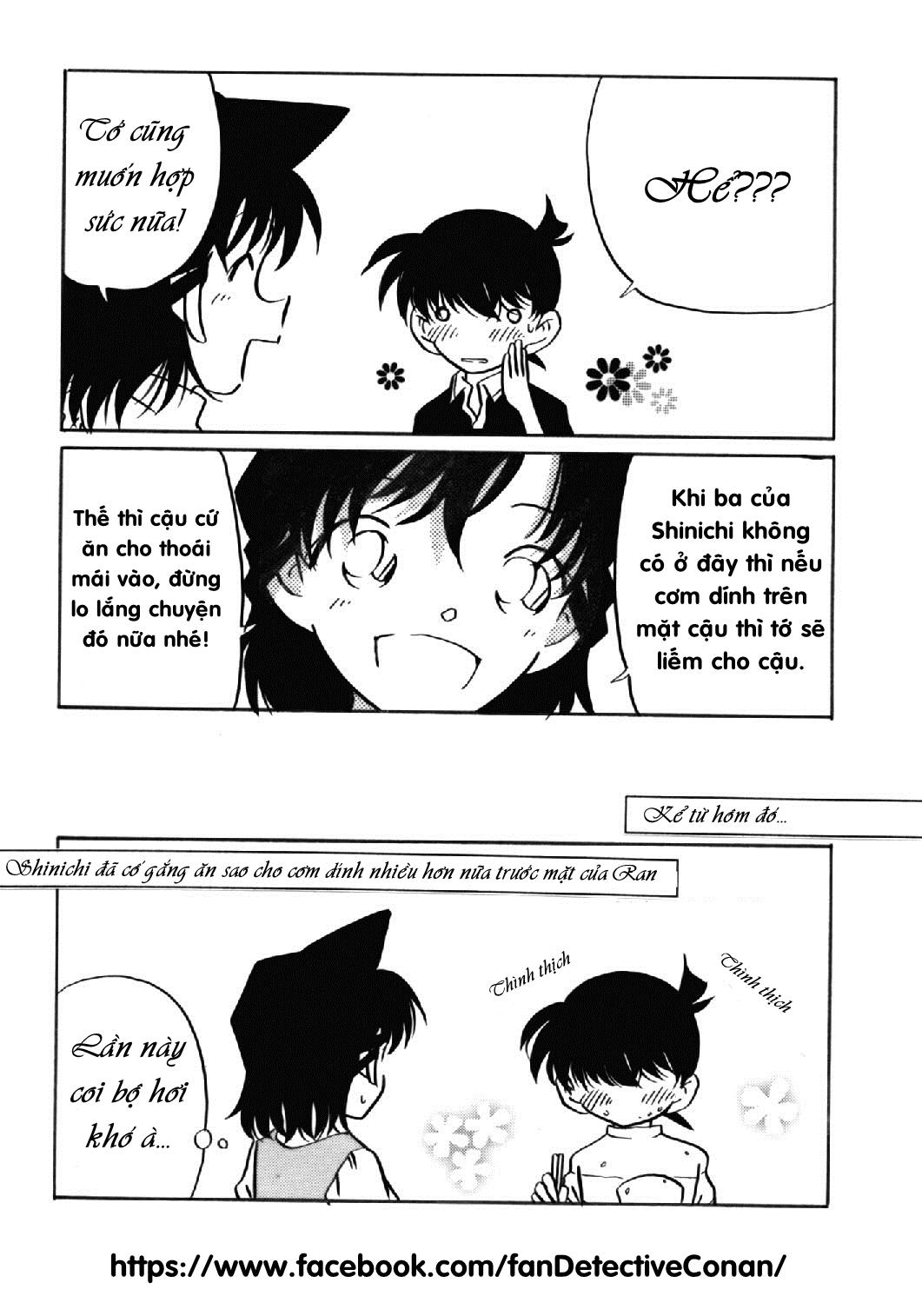 [Doujinshi] Shinichi-kun! Cứ để việc đó cho tớ! Fan