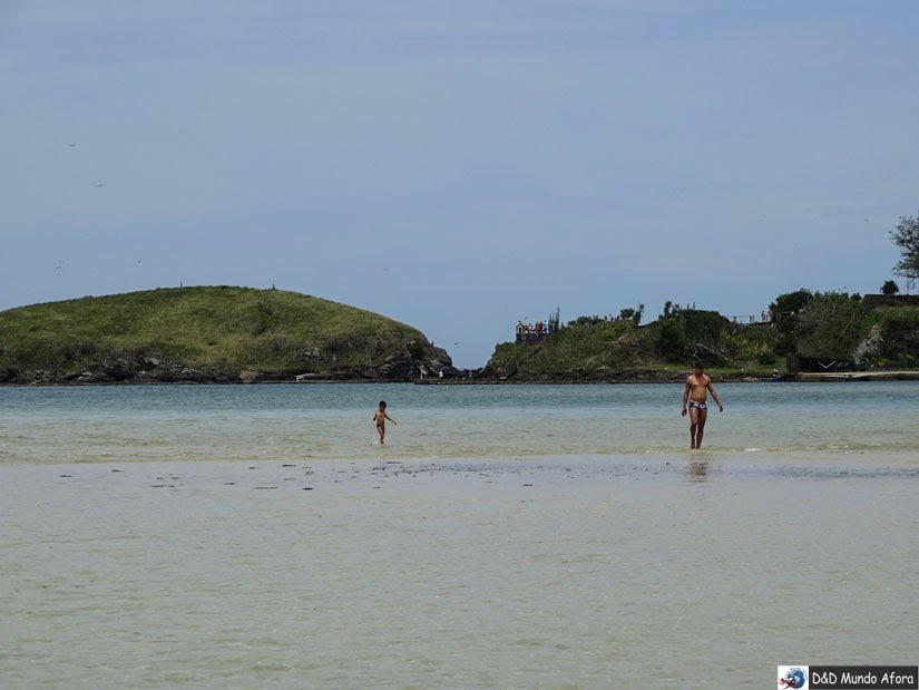 Um dia na Ilha do Japonês em Cabo Frio