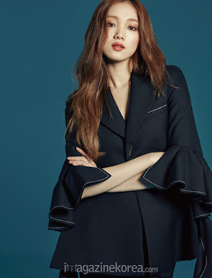 Lee Sung Kyung - Harper's Bazaar Magazine February Issue 2016