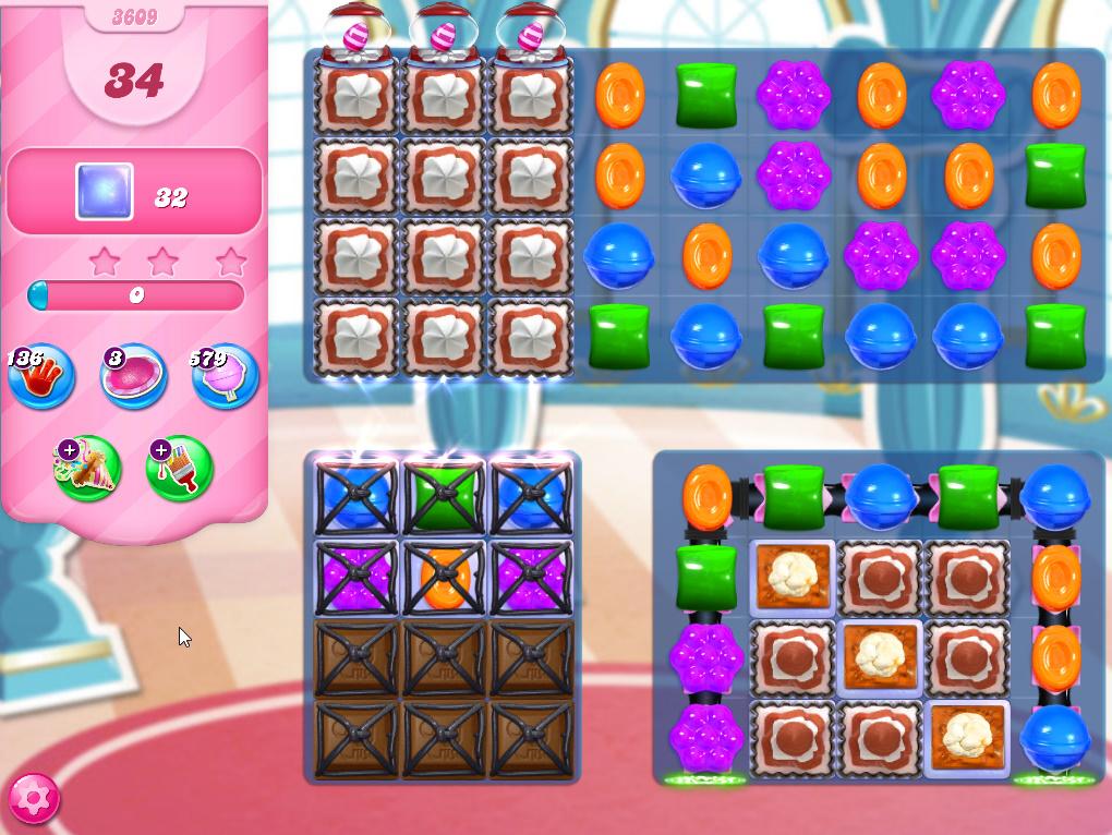 Candy Crush Saga level 3609