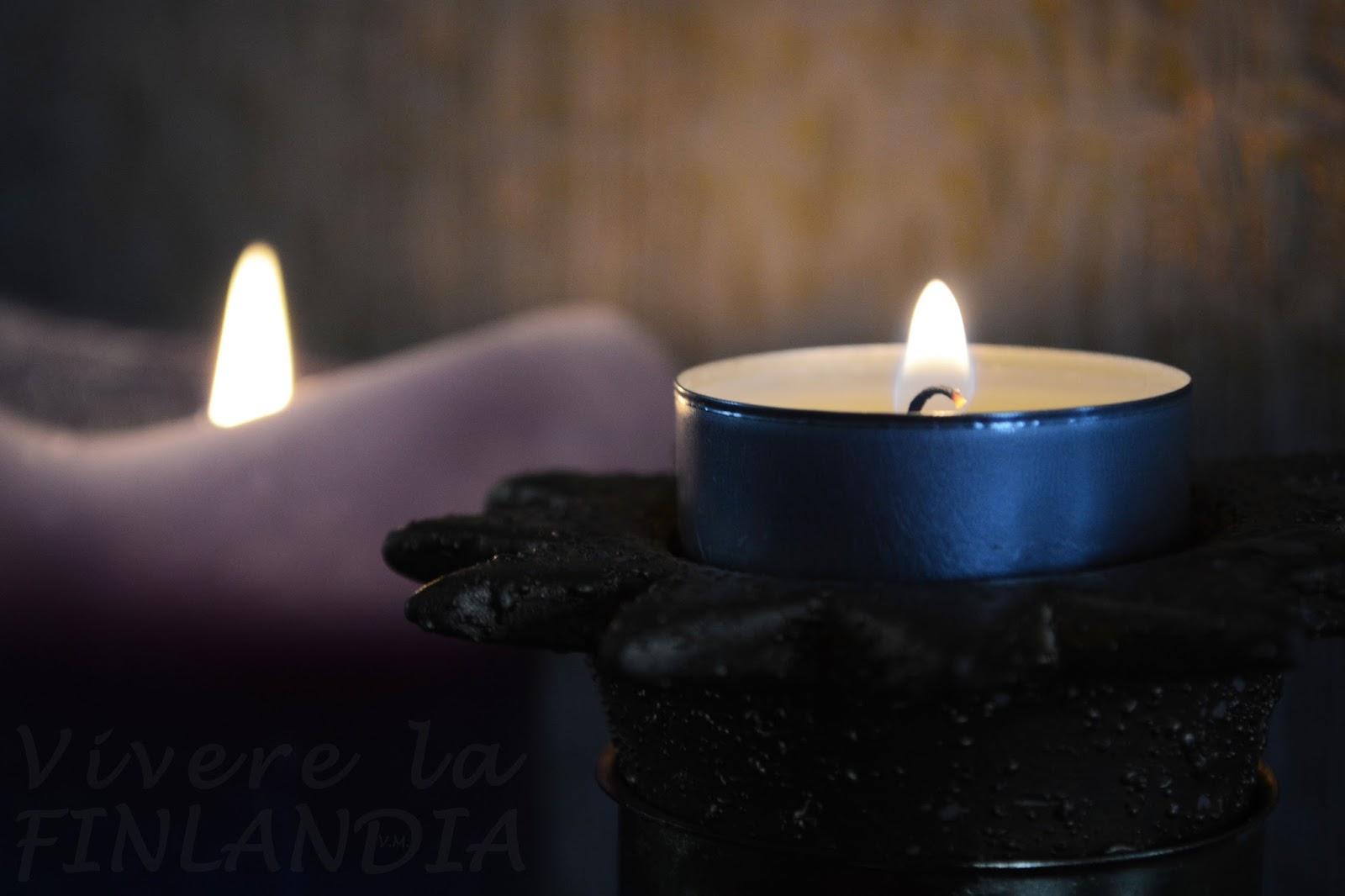 Periodo freddo e buio per fortuna esistono le candele