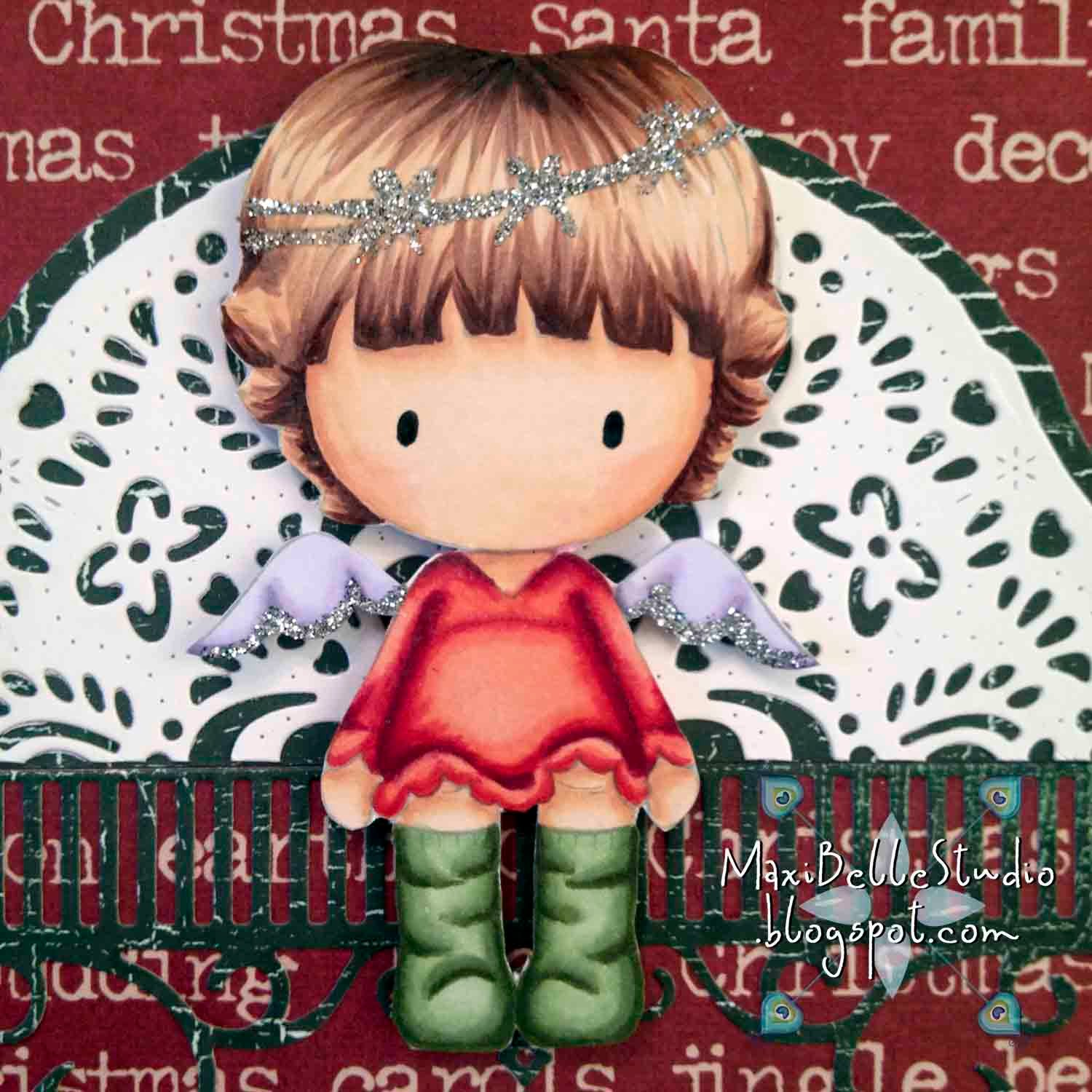 CC Designs Sugarplums Christmas Angel Emma