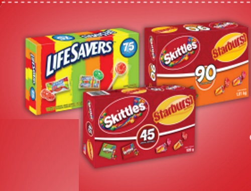 Skittles & Starburst or Lifesavers Halloween Candy Coupon