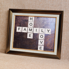 Scrabble Letters, Wall Frame, wall art, framed print  in Port Harcourt, Nigeria