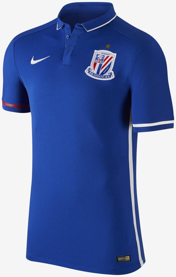 9c3fbeb413a0c Nike divulga nova camisa titular do Shanghai Shenhua - Show de Camisas