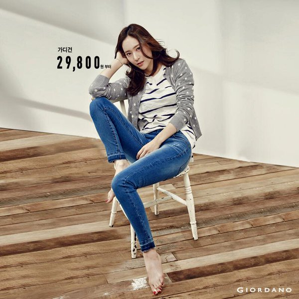 Steal Krystal's Look from Giordano: Polka Dot and Stripes