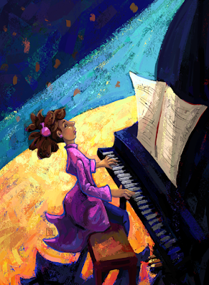 Piano Concert Then by Traci Van Wagoner