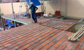 berbagai ukuran kemiringan sudut atap