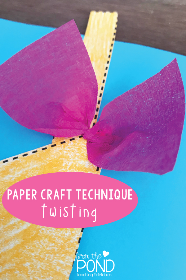 Paper Craft Techniques From The Pond