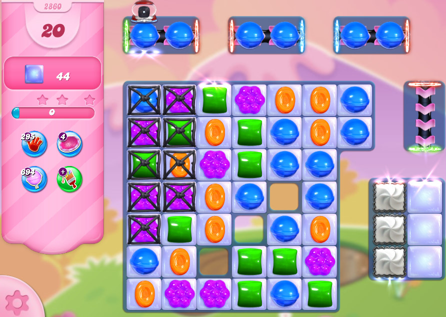 Candy Crush Saga level 2860