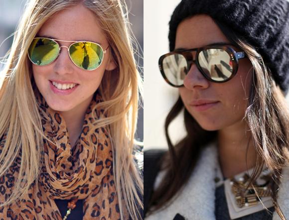 96f520cfb4600 ... de importantes revistas, e no rosto de famosas como a apresentadora  Sabrina Sato e a top Alessandra Ambrósio, os óculos espelhadoschegam às  vitrines das ...