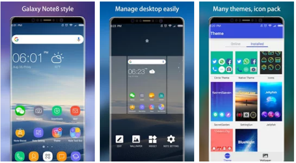 Note 8 Launcher Prime Apk Untuk Android