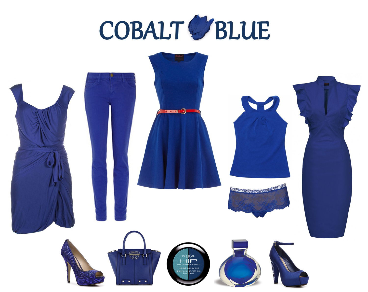 What Color Shoes To Wear With A Marine Blue Dress