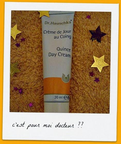 Crème de jour au coing Dr Hauschka - Les Mousquetettes©