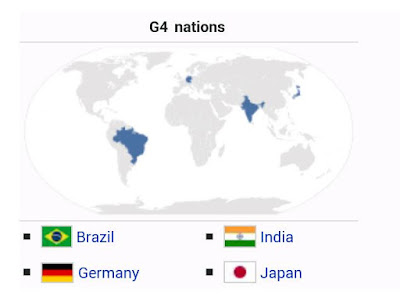 निबंध जी- 4 देश