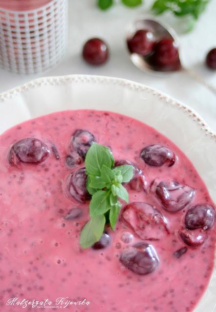 jak zrobić chłodnik? zupa owocowa, zupa z wiśni, lato, obiad, daylicooking, Małgorzata Kijowska