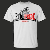 Camiseta de Rude Pride Logotipo Guerrero Oficial