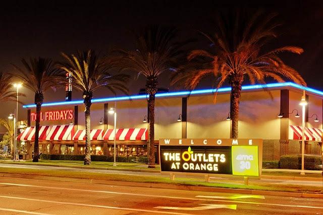 Noite de compras em Anaheim