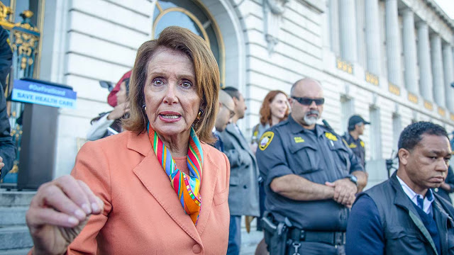 President Trump cancels Nancy Pelosi's 'seven-day excursion'