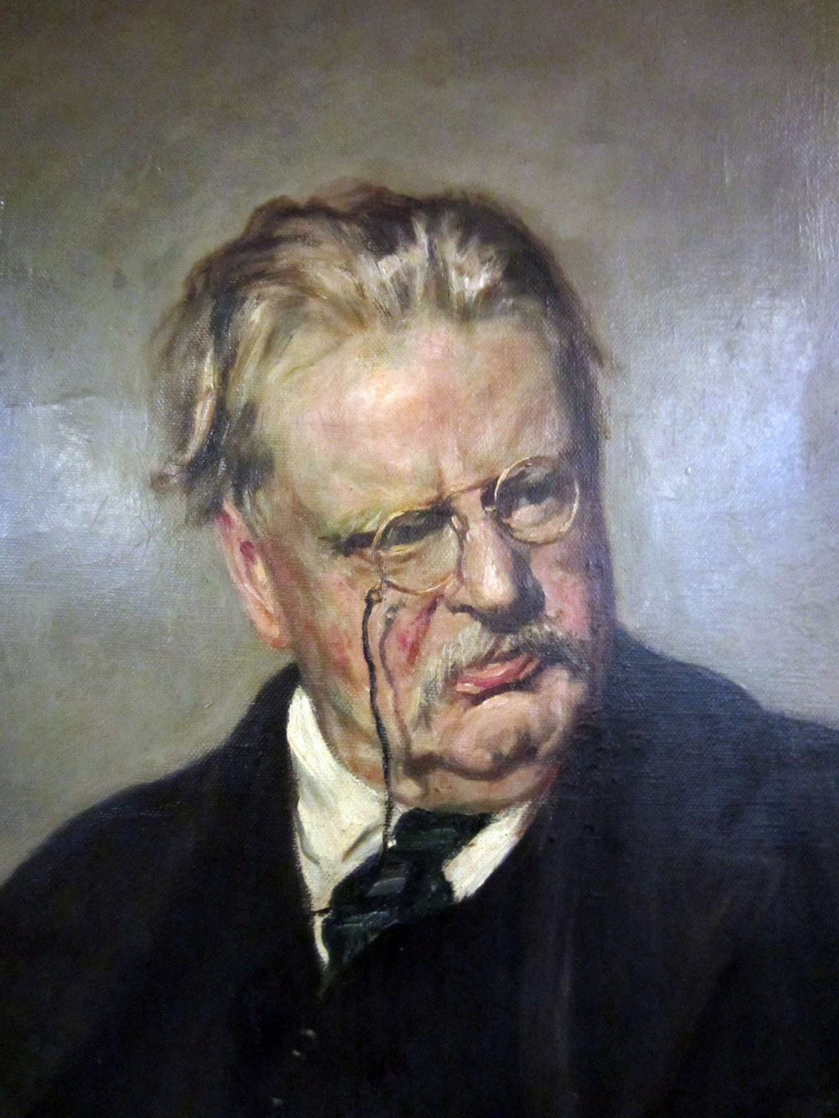 gilbert keith chesterton (gilbert keith chesterton), 1874-1936, english author conservative, even reactionary, in his thinking, chesterton was a convert (1922) to roman catholicism and its champion he has been called the prince of paradox because his dogma is often hidden beneath a light, energetic, and whimsical style.