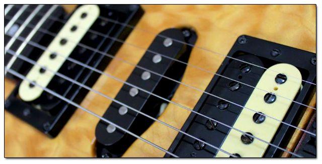 Diferentes Tipos de Pastillas o Micrófonos para Guitarra Eléctrica