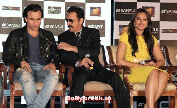 , Sonakshi Sinha sizzles at Bullett Raja Press Meet