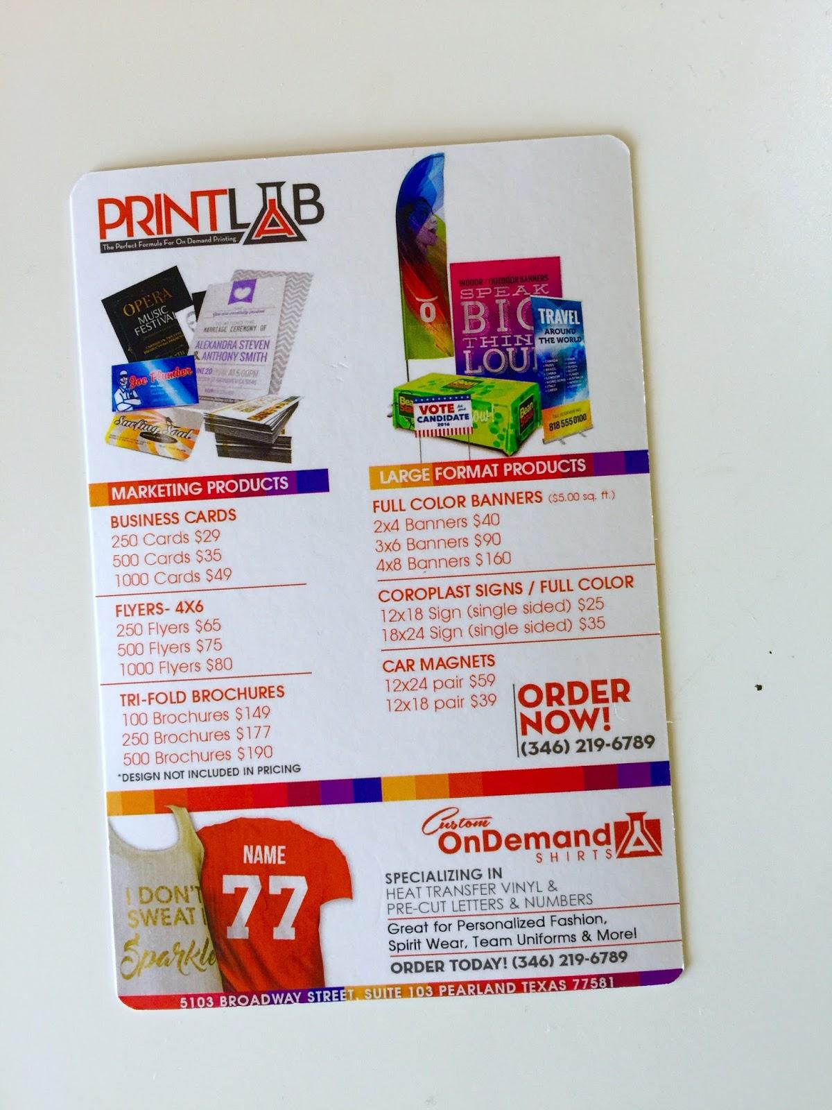 print lab stores blog