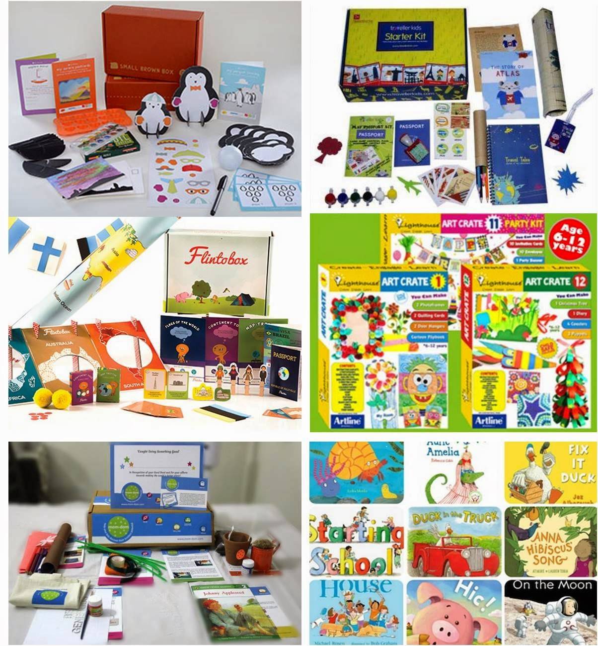 Subscription Activity Boxes for Kids in India