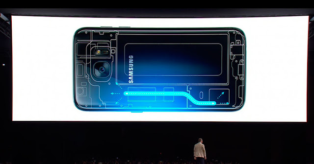 Does the liquid cooling system of the Galaxy S7 available for the Gear VR?