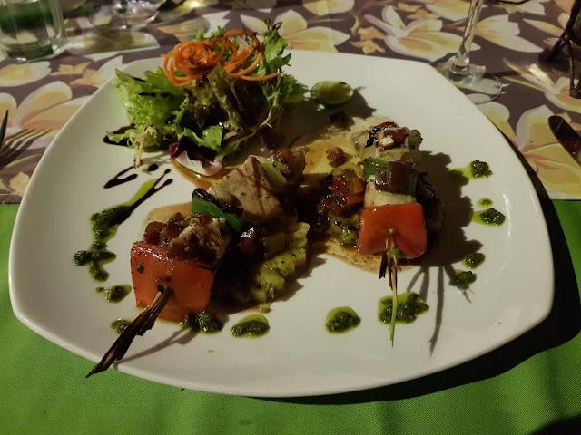 Cena sul lungomare di Sanur, Bali