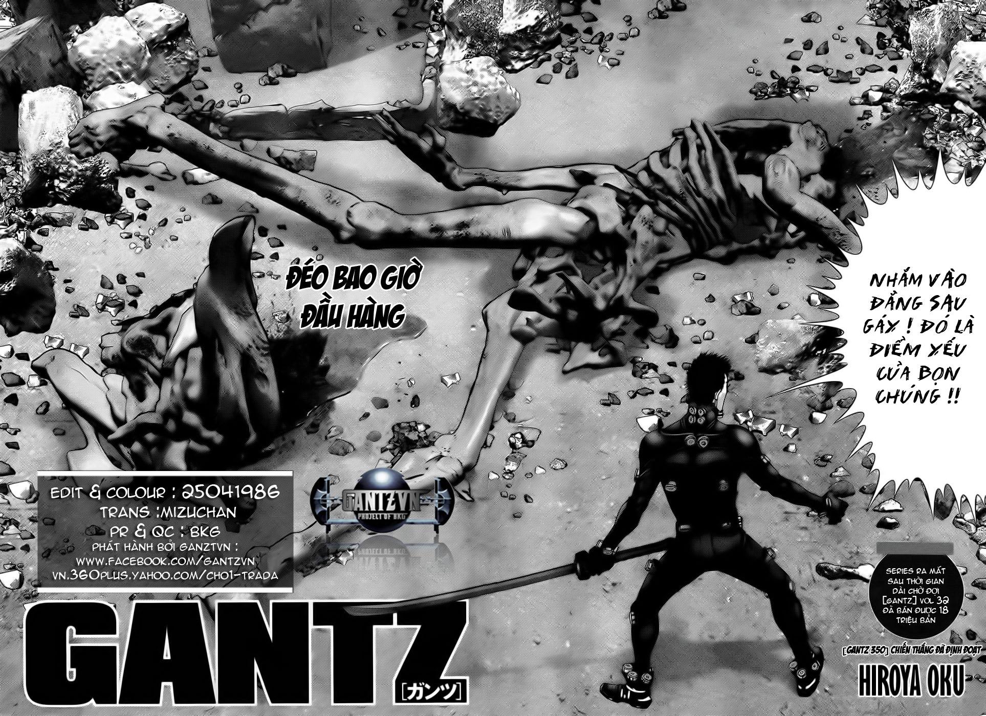 Gantz chap 350 trang 4