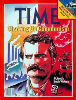 Time Magazine Cover Lech Walesa Solidarnosc Solidarity