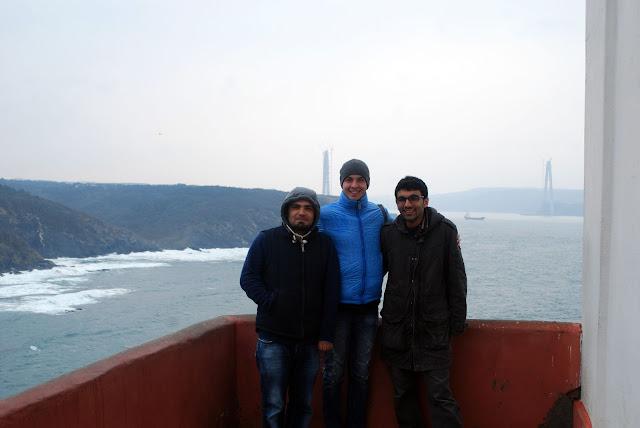 Чёрное море, Босфор, Турция.