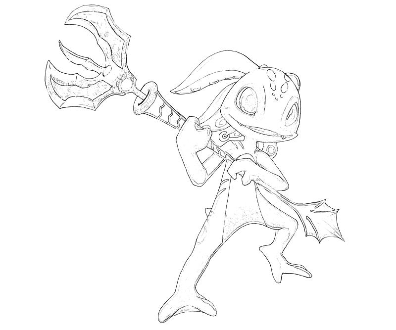 League of legends gragas character tubing for League of legends coloring pages