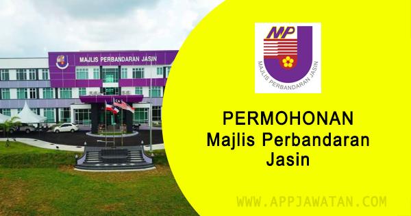 Jawatan Kosong di Majlis Perbandaran Jasin, Melaka