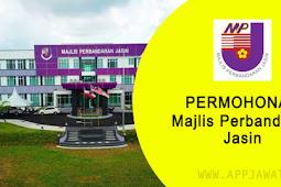 Jawatan Kosong di Majlis Perbandaran Jasin, Melaka - 23 November 2018