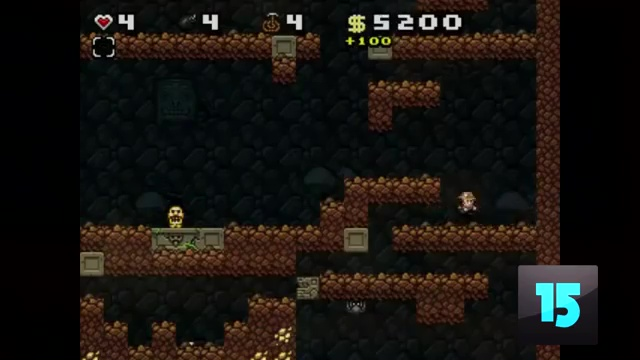 TOP 15 MOST SUCCESSFUL INDIE GAMES EVER MADE 15. We start off with Spelunky